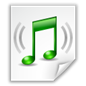 Monkey's Audio Lossless Audio File Icon