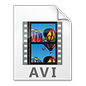 Audio Video Interleave File Icon