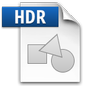 High Dynamic Range Image File Icon