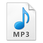 MP3 Audio File Icon