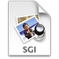 Silicon Graphics Image File Icon