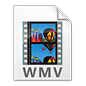 Windows Media Video File Icon